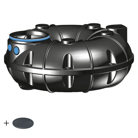 Kunststoffzisterne NEO 1500 Liter BASIC inkl. Deckel TopCover