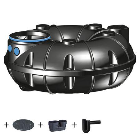 Kunststoffzisterne NEO 1500 Liter STANDARD mit Zubehör