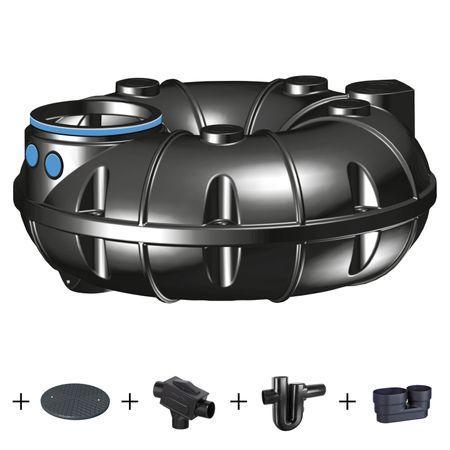 Kunststoffzisterne NEO 1500 Liter - PROFI - Komplettanlage