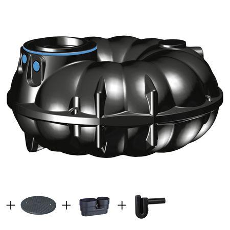 Kunststoffzisterne NEO 3000 Liter STANDARD mit Zubehör