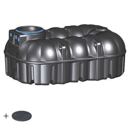 Zisterne für Regenwasser 7100 L REWATEC NEO  BASIC