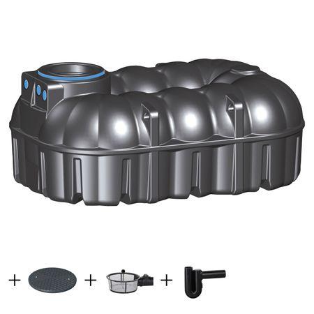 Zisterne NEO 7100 Liter ECO inkl. Deckel und Zubehör