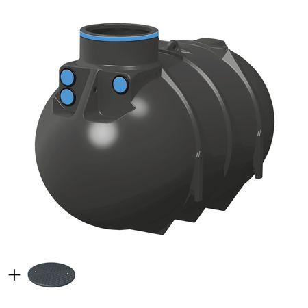 Erdtank 2600 Liter BASIC inkl. Deckel TopCover