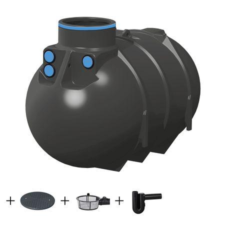 Rewatec BlueLine II 2600 Liter ECO inkl. Korbfilter