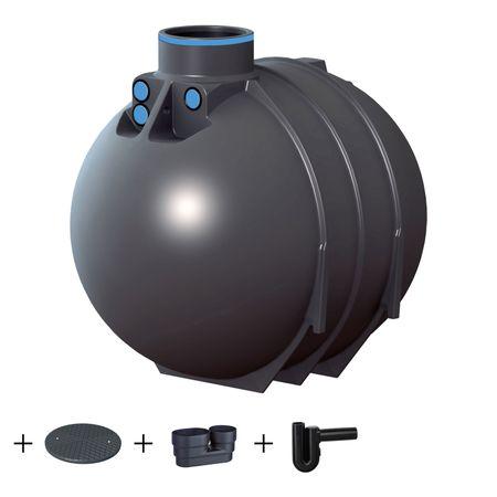 Regenwassertank BlueLine II 5200 Liter STANDARD