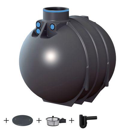 Regenwassertank BlueLine II 5200 Liter ECO inkl. Zubehör