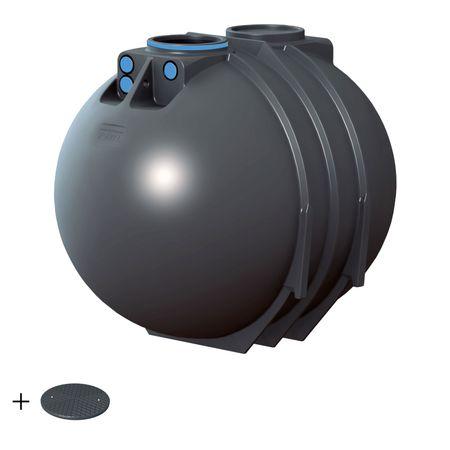 Rewatec BlueLine II 7600 Liter BASIC inkl. Deckel TopCover