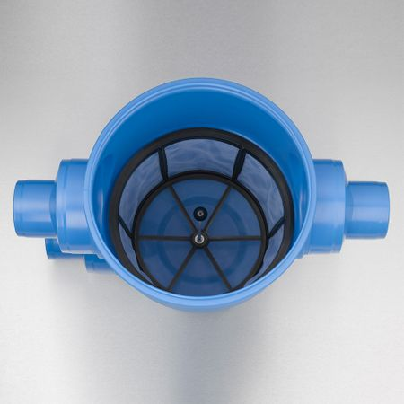 Regenwasserfilter Gartenfilter XL Abgang seitlich DN 150/DN 200 – Bild 2