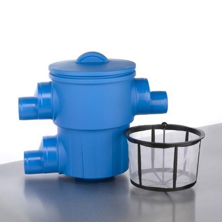 Regenwasserfilter Gartenfilter XL Abgang seitlich DN 150/DN 200