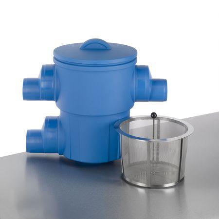 Regenfilter Retentionsfilter RVF XL Abgang seitlich DN 150/200