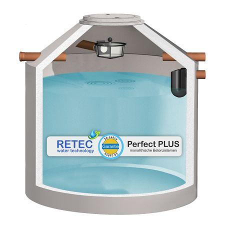 Regenwasserzisterne 9200 Liter ECO, mit Korbfilter
