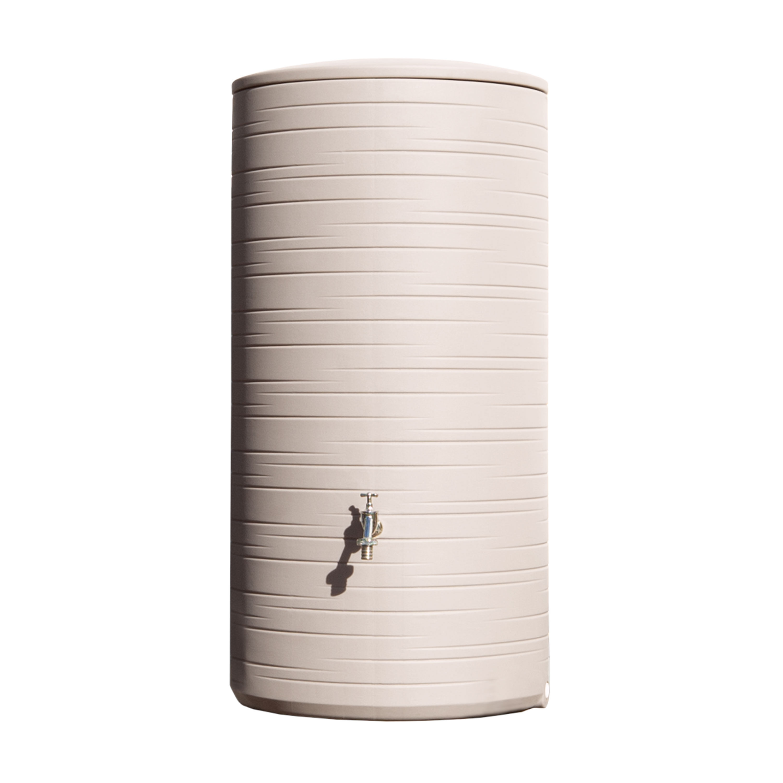 regentonne novara 285 liter taupe. Black Bedroom Furniture Sets. Home Design Ideas