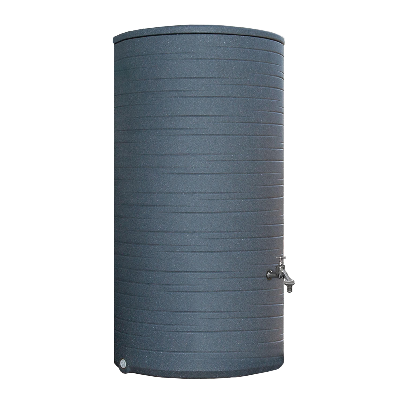 regentonne grau novara 285 liter. Black Bedroom Furniture Sets. Home Design Ideas