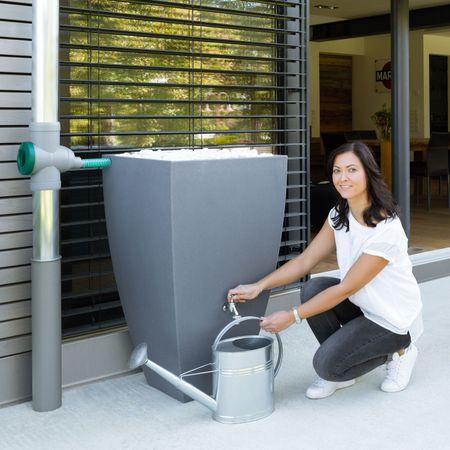Regenwassertank grau Modena 200 Liter