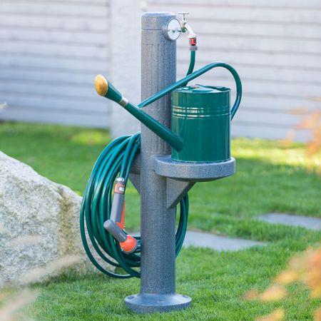Wasserzapfstelle anthrazit Premium