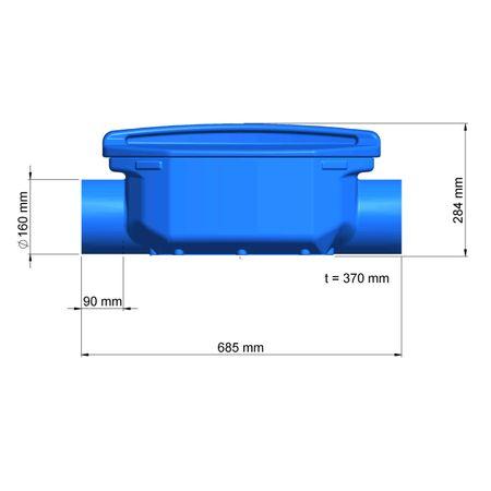 Großanlagenfilter Verieselungsfilter DN 150