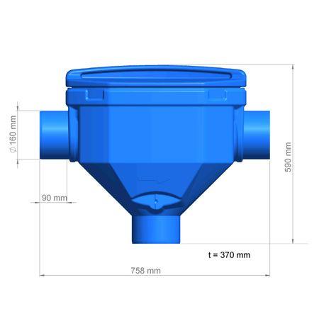 Regenwasserfilter Premiumfilter DN 150 – Bild 4