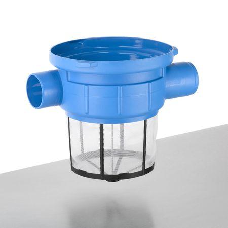Regenfilter Gartenkorbfilter mit Kunststoffsieb