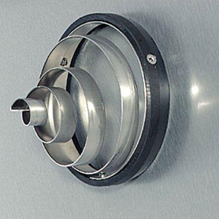 Siphon DN 100 mit Nagetiersperre Spirale (Edelstahl) – Bild 4