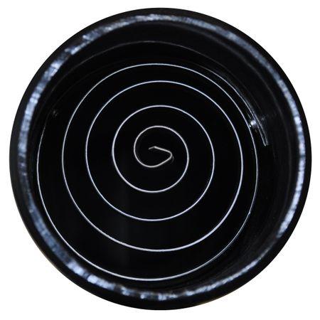 Siphon DN 100 mit Nagetiersperre Spirale (Edelstahl) – Bild 3