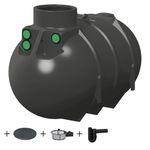 Regenwassertank 2600 l - REGENTA GARTEN - AKTION - 001