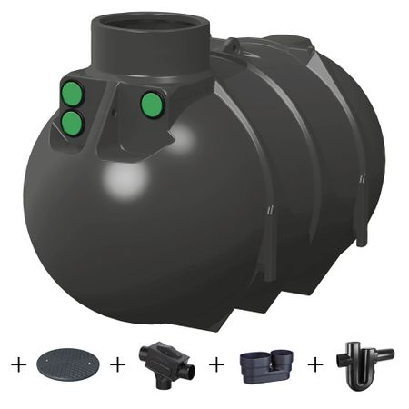 Regenwassertank 2600 l PERFEKT TOP ANGEBOT