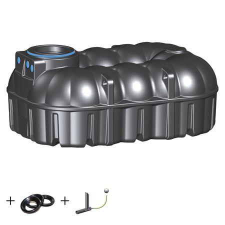 Retentionszisterne NEO 7100 liter inkl. Drossel und Überlauf