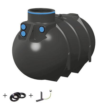 Regenwassertank Retention BlueLine II 2600 liter inkl. Drossel