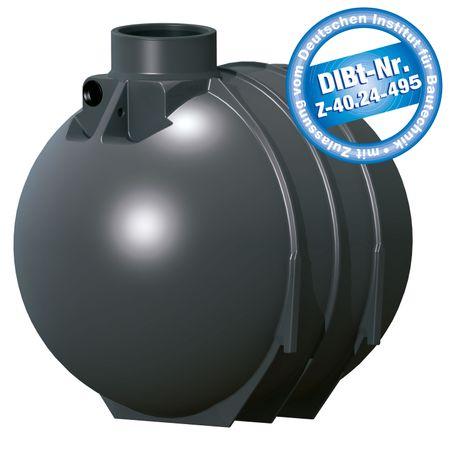 Abwassergrube 5200 Liter BlackLine II mit DIBt - Zulassung