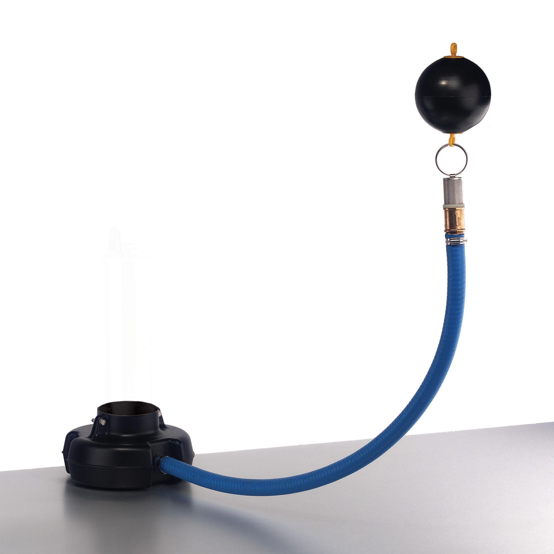 Pumpenfuß für Tauchdruckpumpen mit schwimmender Ansaug-Armatur