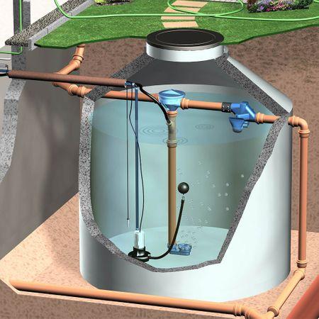 Pumpenfuß für Tauchdruckpumpen mit schwimmender Ansaug-Armatur – Bild 3