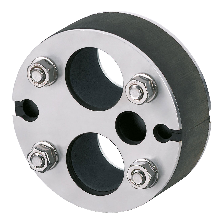 Rohrdurchführung DN 100 2x Ø 32 mm, 1x Ø 16 mm und 2 Kabel