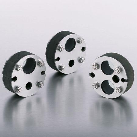 Rohrdurchführung DN 100 2x Ø 32 mm, 1x Ø 16 mm und 2 Kabel – Bild 2