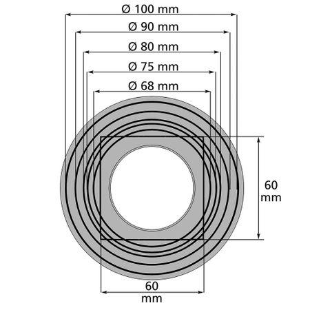 Fallrohrfilter mit Absperrhahn grau – Bild 4