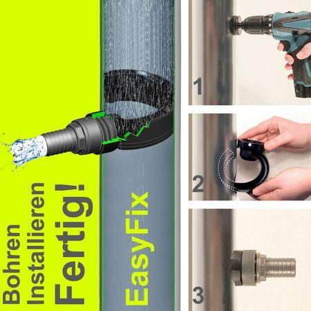 Fallrohrfilter Easy Fix für Regenwasser – Bild 1