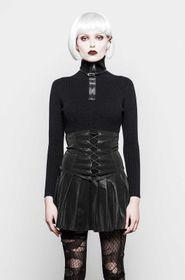 Detail image to PUNK RAVE High Waist Mini Skirt