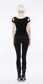 Detailbild zu PUNK RAVE Black Skinny Jeans
