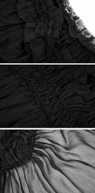 Detailbild zu PUNK RAVE Pyon Pyon Gothic Tunika Top