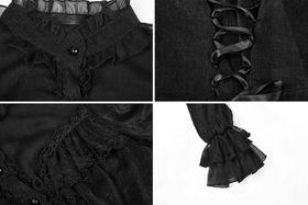 Detailbild zu PUNK RAVE Pyon Pyon Gothic Lolita Bluse