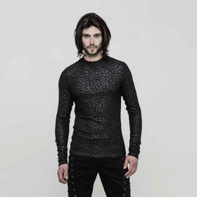 PUNK RAVE Arabesque Gothic Longsleeve Top