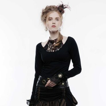 PUNK RAVE Steampunk Top