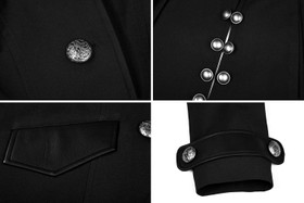 Detailbild zu PUNK RAVE Riding Jacket Black