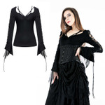 DARK IN LOVE Mittelalter Langarm Shirt 001