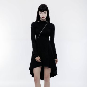 PUNK RAVE Dark Skater Kleid