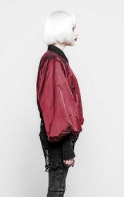 Detailbild zu PUNK RAVE Baphomet Bomber Jacket Rot