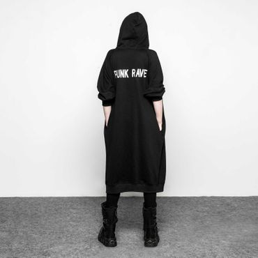 PUNK RAVE Sweat Hoodie Coat
