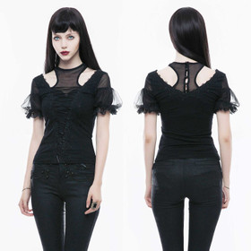PUNK RAVE Racer Back Gothic Top
