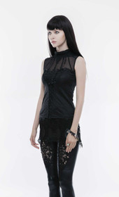 Detail image to PUNK RAVE Romantic Gothic Tank Top
