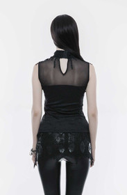 Detailbild zu PUNK RAVE Romantic Gothic Tank Top