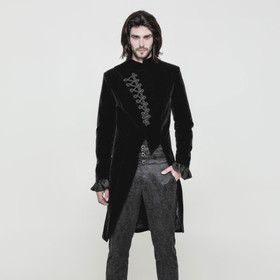 PUNK RAVE Three Quarter Gothic Tailcoat